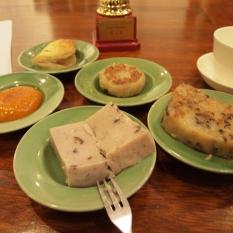 Chinese tea dim sum