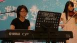 Chi Suk Kwan (piano) and Lee Yin Yin (violin)