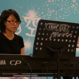 Chi Suk Kwan (piano) and Lee Yin Yin (violin)