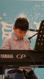 Anthony on piano