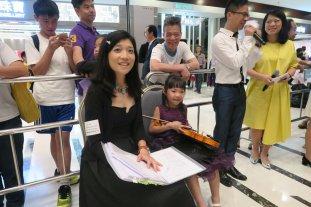 Sum Yau and Miss Ellen Preparing