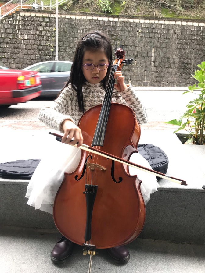 Cello Competition. 71th HKSMF junior group大提琴初級組比賽後之